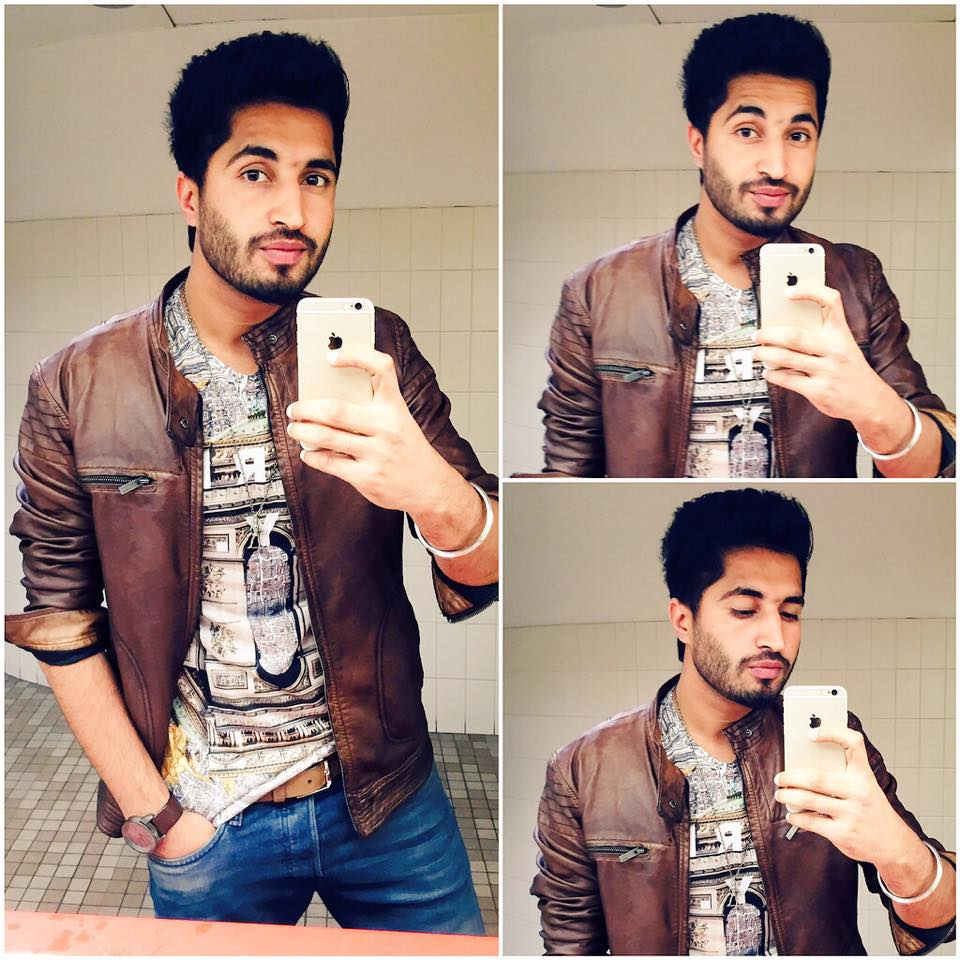 Jassi Gill Hairstyle Pic Sings New Song Laden