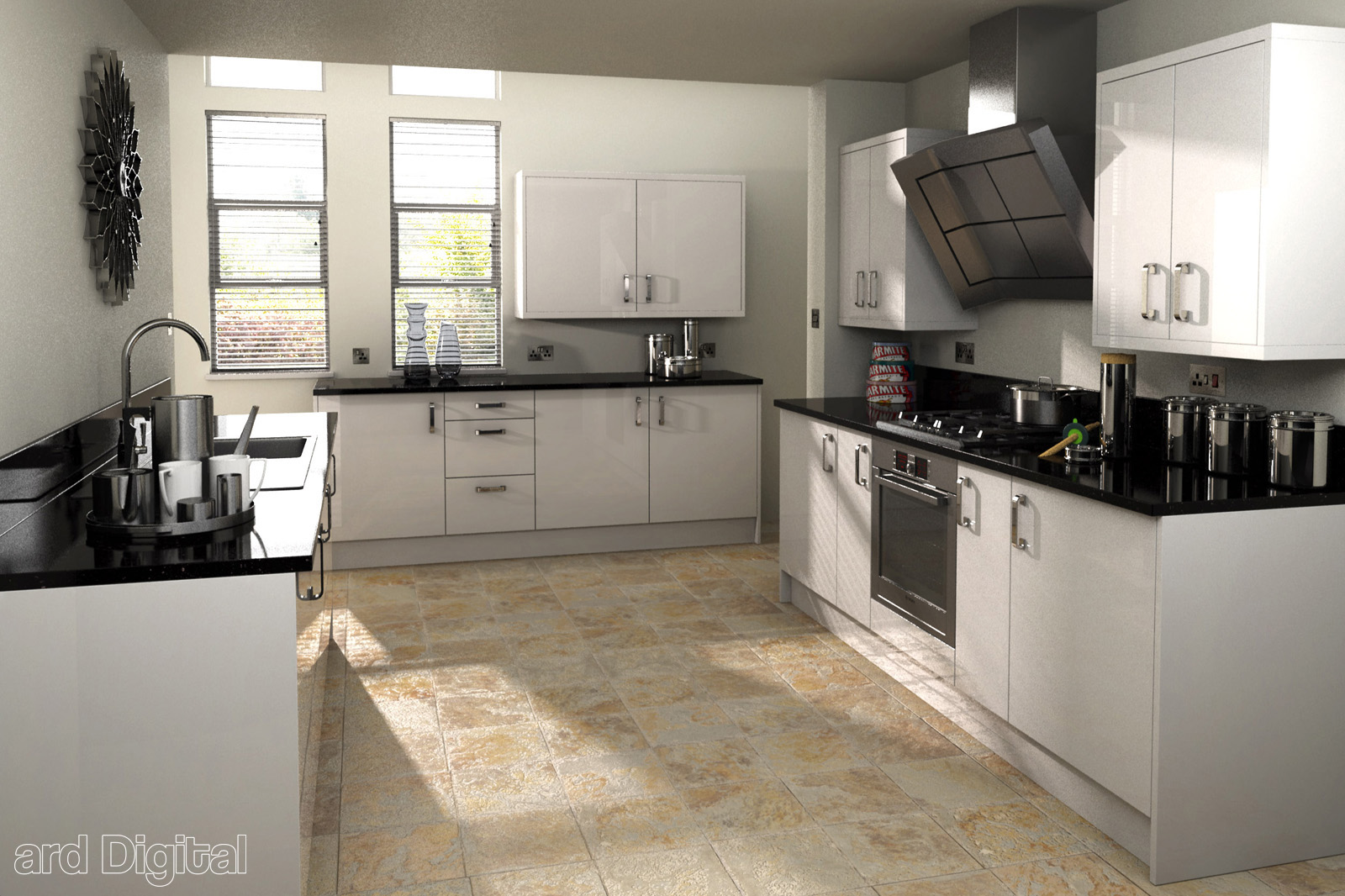 Pin lemari dapur olympic on pinterest for Kitchen set warna putih